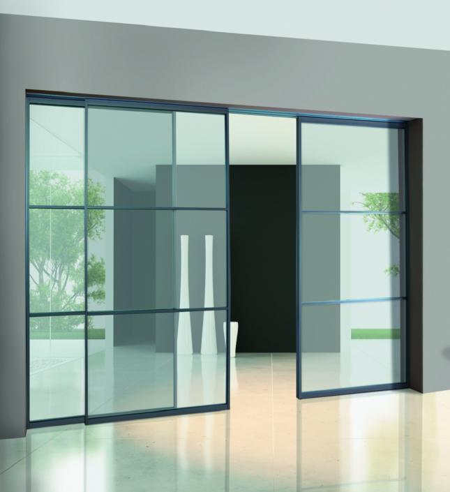 alluminio vetro interno muro (GS1)